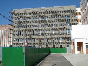 Строительство второго корпуса